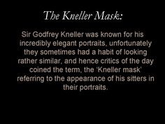 Glossary entry: 'The Kneller Mask'