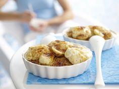 Gratinierter Porridge - mit Bananen und Joghurt - smarter - Kalorien: 516 Kcal - Zeit: 20 Min. | eatsmarter.de