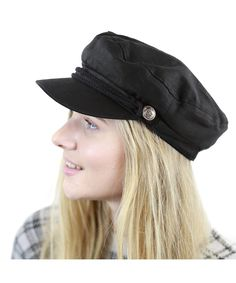 Black Horn Unisex Cotton Greek Fisherman s Sailor Fiddler Hat Cap Black  C5187LRXRZK 13f9272ceb2c
