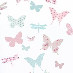 butterfly wall stickers by koko kids | notonthehighstreet.com I would put these on furniture too