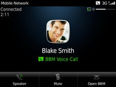 Free Voice Chat Feature Over Wi-Fi Comes To Blackberry Messenger 7