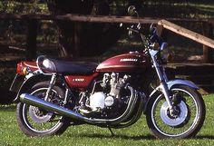 """Kawasaki Z900 """"Z1"""" Modellgeschichte von Winni Scheibe"""