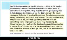 Best Les Misrables Review Ever #lol