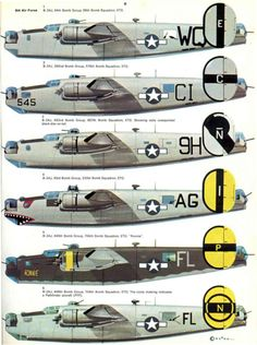 Consolidated of the Air Force Ww2 Aircraft, Military Aircraft, Aircraft Painting, Ww2 Planes, Military Pictures, Military Weapons, Nose Art, Aviation Art, War Machine