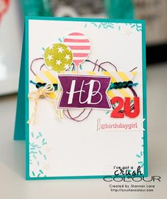 HB2U! by slane2 - Cards and Paper Crafts at Splitcoaststampers
