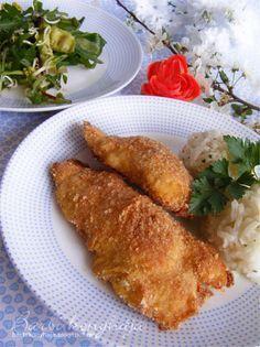 Rántott hús sütőben Hungarian Cuisine, Hungarian Recipes, Hungarian Food, Austrian Recipes, Austrian Food, Just Eat It, Pork Dishes, Food 52, Original Recipe