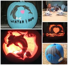Check out the innovative Winter and Hope themed pumpkins our fans created this Halloween season. Keep sharing the #CMAFanPhotos, we love to see the CMA pride!