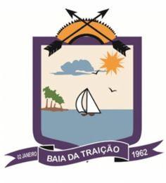 Baía da Traição - Brasão do Município de Baía da Traição-PB