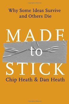 Made to Stick: Why Some Ideas Survive and Others Die de Chip Heath, http://www.amazon.es/dp/1400064287/ref=cm_sw_r_pi_dp_O5d1sb191J6VS