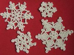 Простые, но эффектные новогодние снежинки крючком. Часть 2   Ярмарка Мастеров - ручная работа, handmade