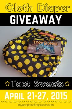 Win an #AI2 #clothdiaper from TOOT SWEETS on #etsy! #organic #hemp #cute