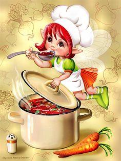 Cocinar es un placer y tener que echar al caldero más aún. ..