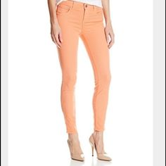 Paige peg super skinny 28 Cute, perfect spring pants, super flattering. Paige Jeans Jeans Skinny