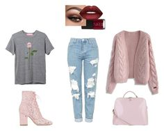 Dionne✨    Created by sophia-rebecca on Polyvore    Featuring polyvore, fashion, style, Chicwish, Topshop, Laurence Dacade, Radley, Lime Crime, NARS Cosmetics and clothing