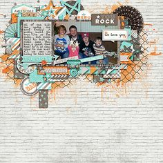 created using cornelia designs' big enough template pack and zoe pearn's family man kit.