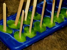 Ice pops from Sonic slushes