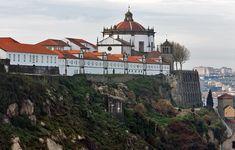 Mosteiro da Serra do Pilar - Direção Regional de Cultura do Norte Porto City, Douro, Portuguese, Taj Mahal, Mansions, Country, House Styles, Building, Travel