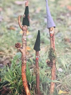 Garden Crafts, Garden Projects, Garden Art, Autumn Crafts, Nature Crafts, Diy Crafts To Sell, Diy Crafts For Kids, Diy Garden Fountains, Deco Nature