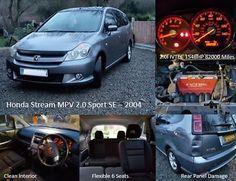 "eBay: Honda Stream 2.0 i-vtec SE Sport ""Panel Damage"" ( Civic Estate / MPV 6 Seats) #carparts #carrepair"