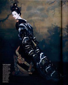 Gong Li in Memoirs of a Geisha