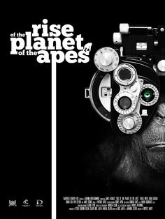 Rise of the Planet of the Apes - Tribute poster by Federico Mancosu