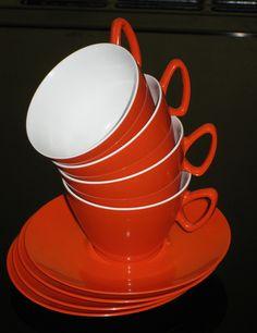 VINTAGE GAYDON MELMEX CUPS AND SAUCERS by daisyladybird, via Flickr