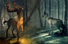 Hermanos del bosque por ZakraArt - Escenas | Dibujando.net