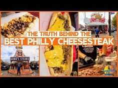 TOP 5 PHILLY CHEESESTEAKS IN PHILADELPHIA | Food guide - YouTube Best Philly Cheesesteak, Philly Cheesesteaks, Philadelphia Recipes, Philadelphia Pa, Cheese Steaks, Sandwiches, Snack Recipes, Chips, Ethnic Recipes