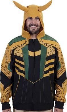 Marvel Loki Costume Hoodie