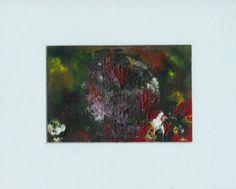 Fine Acrylic Art Abstract Flowers  Original Acrylic by rostudios, $20.00