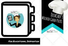 30+ Awesome Ideas and Educational Inspirations: https://www.pinterest.com/techchef4u/techchefs-wicked-good-picks/