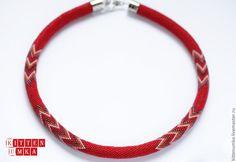 Bead Crochet Patterns, Beaded Crochet, Bead Crochet Rope, Seed Bead Necklace, Seed Beads, Crochet Necklace, Beaded Necklace, Chrochet, Arrow