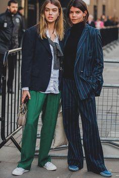 88bf3bdf51573 LONDON 2018AW ストリートファッション, ストリートシック, ストリートスタイル, ファッショナブルな服,