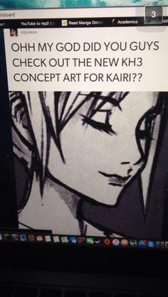 New kairi concept art