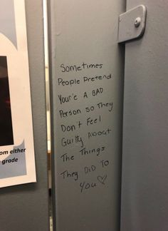 sometimes people pretend you're a bad person so they don't feel guilty about the things they did to you Pretty Words, Beautiful Words, Cool Words, Wise Words, Mood Quotes, Positive Quotes, Street Quotes, Happy Words, Quote Aesthetic