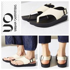 Urban Outfitters Silence + Noise Stephanie Sandals Vegan leather flatform sandals. Comfortable sling back and adjustable buckle ankle strap for custom fit. Cushioned footbed for easy movement. New without box. Urban Outfitters Shoes Sandals