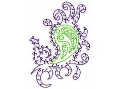 Paisley Machine Embroidery Designs  http://www.designsbysick.com/details/paisley