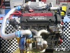 Dual charged Vtec #Honda #VTEC #Rvinyl http://www.rvinyl.com/Honda-Accessories.html