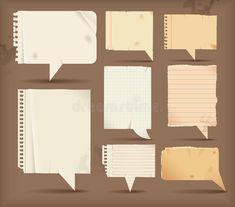 Free dialogue bubble paper vector 3 design in encapsulated postscript . Eps Vector, Vector Free, Dialogue Bubble, Bubble Paper, Old Paper, Layout Template, Layout Design, Design Elements, Bubbles