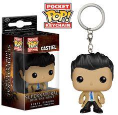 Funko Pocket Pop Keychain - Supernatural - Castiel