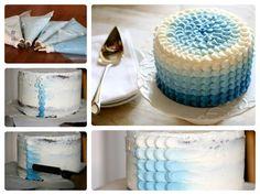 La torta del degradado que tú quieras.