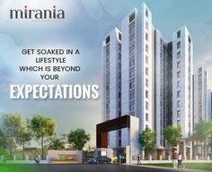 Get soaked in a lifestyle which is beyond your expectations #RealEstate