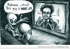 Ancient Alien Humor