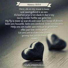 Gebef vir my huwelik Romantic Love Photos, Bible Verses, Love Quotes, Poems, Prayers, Marriage, Journal, Wedding, Life