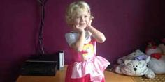 Toddler Decides To Use Dresses Instead Of Pants