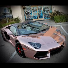 #Westcoastcustoms has a seen a few #lambos in its day... but man is this things sweet. #Goldfinish #killingit
