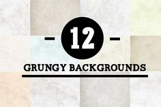 12 grungy backgrounds Graphics 12 .jpg grungy backgrounds.Size of each particular .jpg is 1000px X 1400pxIdeal for posters, illu by Design Shop