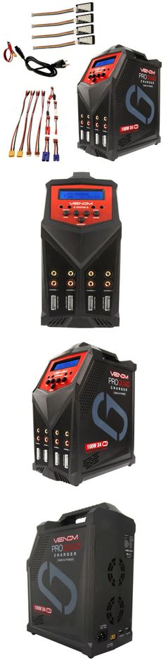 Chargers 56605: Venom 0686 Pro Quad 100W X4 Ac Dc Lipo Lihv Nimh Battery Charger -> BUY IT NOW ONLY: $219.85 on eBay!