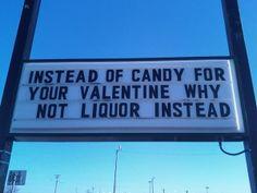 ANTI.  C'est une option  #labusdalcoolestdangereuxpourlasanté  #valentinesday #saintvalentin
