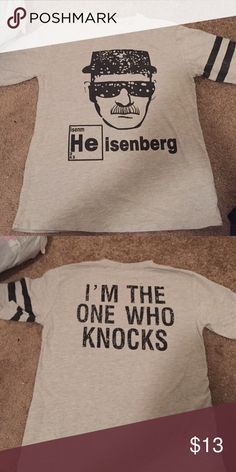 Breaking bad Heisenberg shirt Ordered it and it's too small! Never worn Tops Tees - Short Sleeve